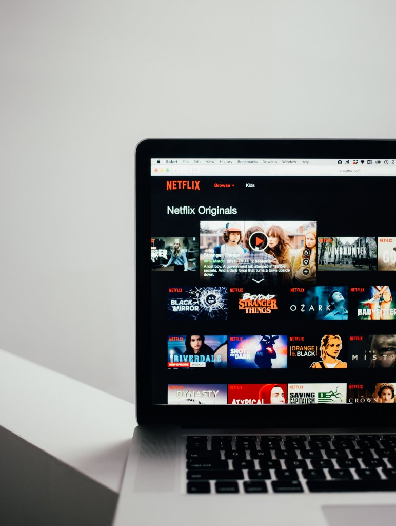 Netflix library on macbook