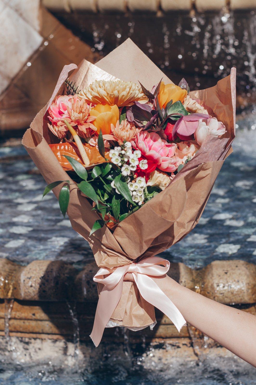 Floral construction co bouquet