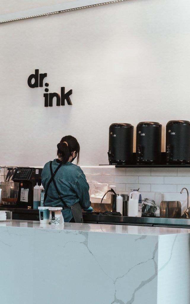 Dr.ink cafe interior design