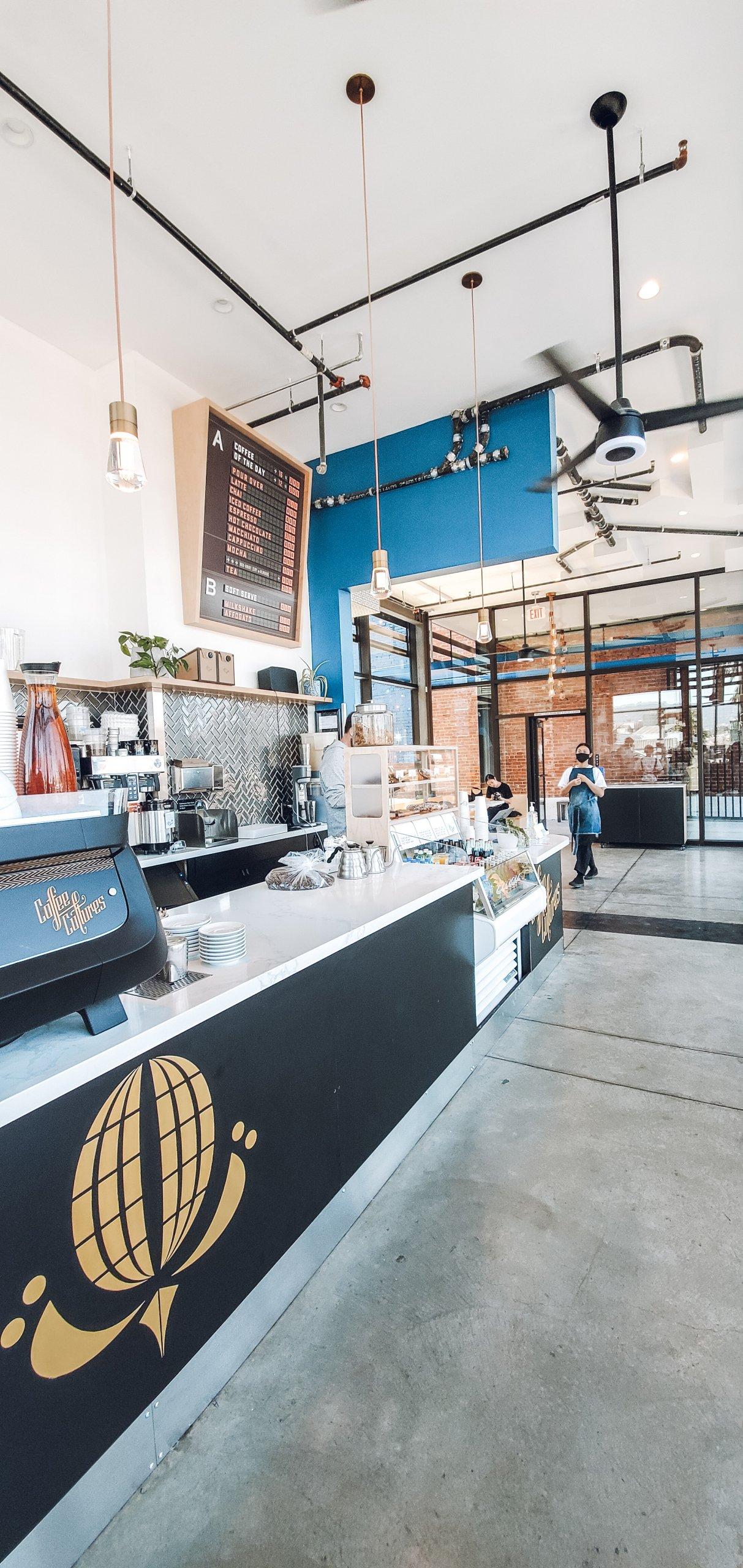 Interior of coffee cultures