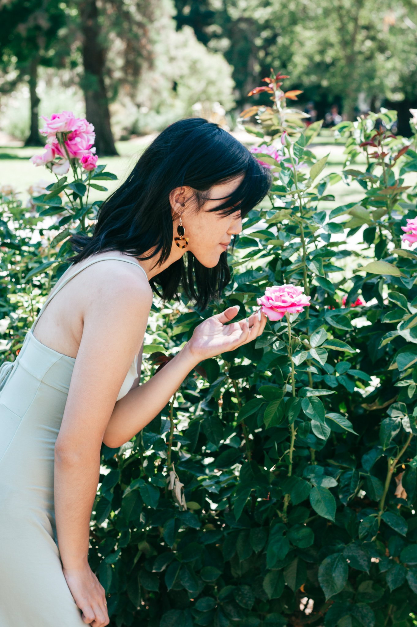 Rose garden outfit