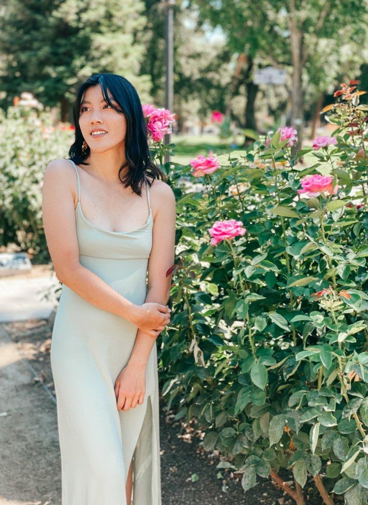 Rose garden full body outfit